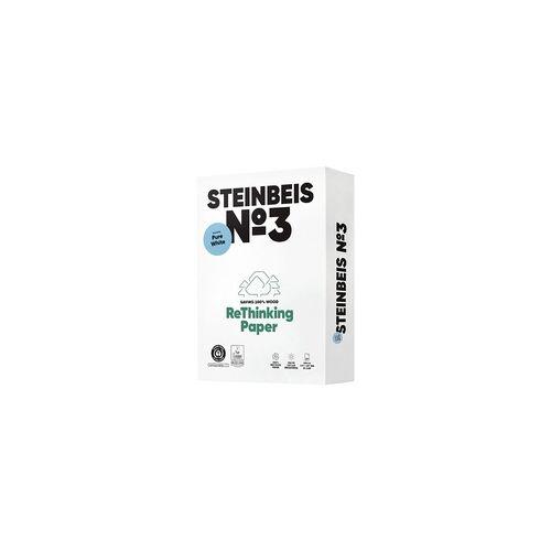 Steinbeis Recyclingpapier »Pure White« weiß, Steinbeis