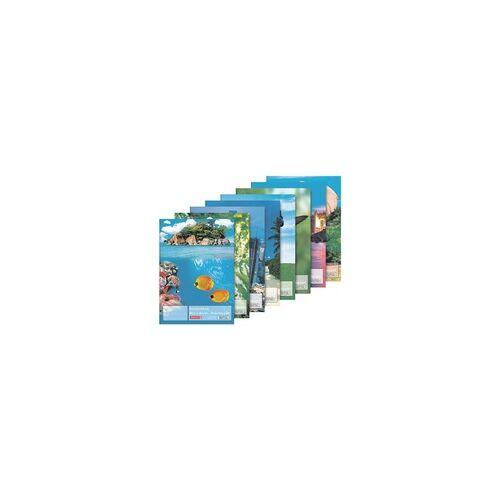 Brunnen Zeichenblock A4 - 100 g, Brunnen, 21x29.7 cm