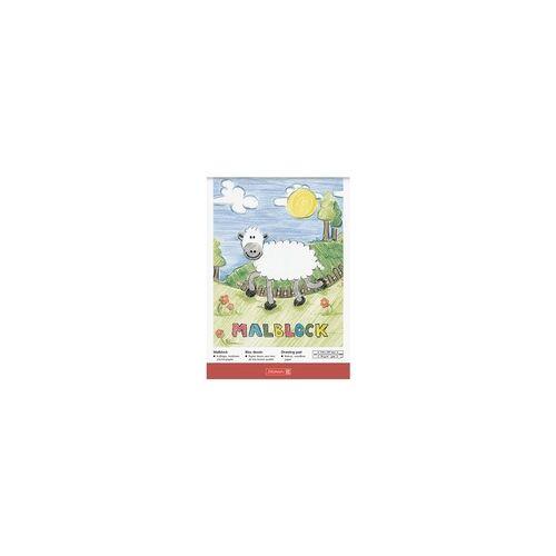 Brunnen Malblock 100 Blatt, Brunnen, 21x29.7 cm