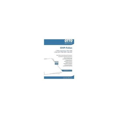 OTTO Office OHP-Inkjet-Folien transparent, OTTO Office
