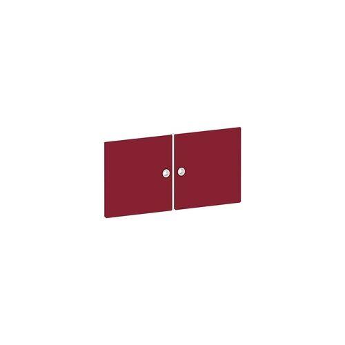 Viasit Tür für Regal »System 4« breit rot, viasit, 75x37.5x1.5 cm
