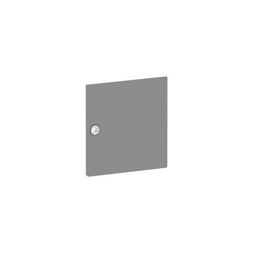 Viasit Tür für Regal »System 4« schmal grau, viasit, 37.5x37.5x1.5 cm