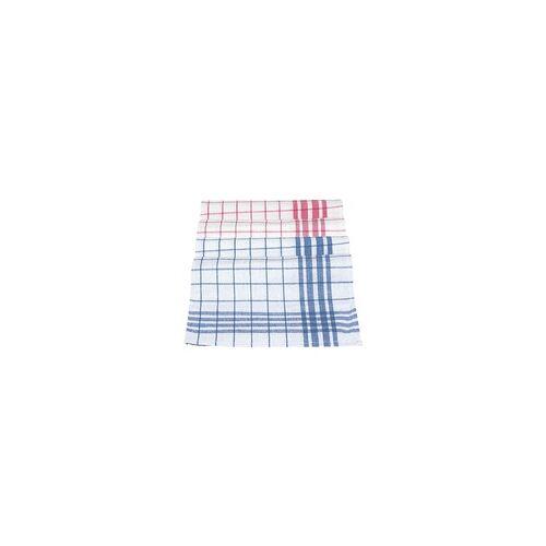 MEIKO Geschirrhandtücher »Dessin 300« im 10er-Pack blau, Meiko, 50 cm