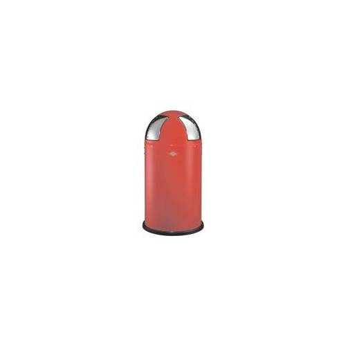 WESCO Mülleimer »Push two« 50 Liter rot, WESCO, 77.5 cm
