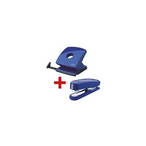Novus Locher-Tacker-Büroset »B230 & B4« blau, Novus