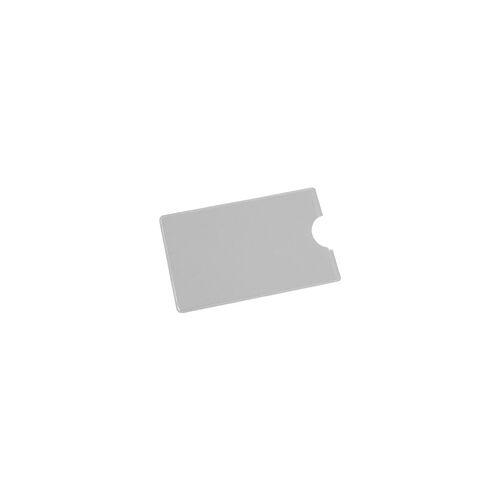 EICHNER Scheckkartenhülle grau, EICHNER, 9x5.9 cm