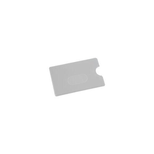 EICHNER Scheckkartenhülle mit Langloch grau, EICHNER, 9x5.9 cm