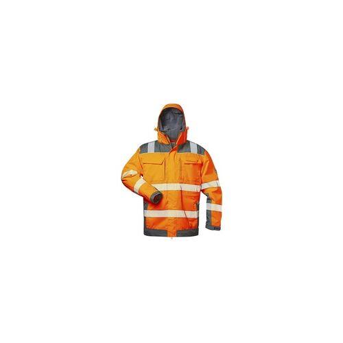 Elysee Warnschutz-Winterjacke 2in1 Stufe 3 Größe XL orange, elysee