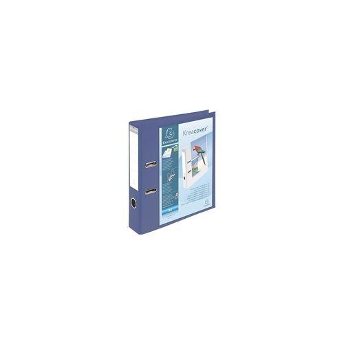 Exacompta Ordner »Kreacover« PVC blau, EXACOMPTA, 32 cm