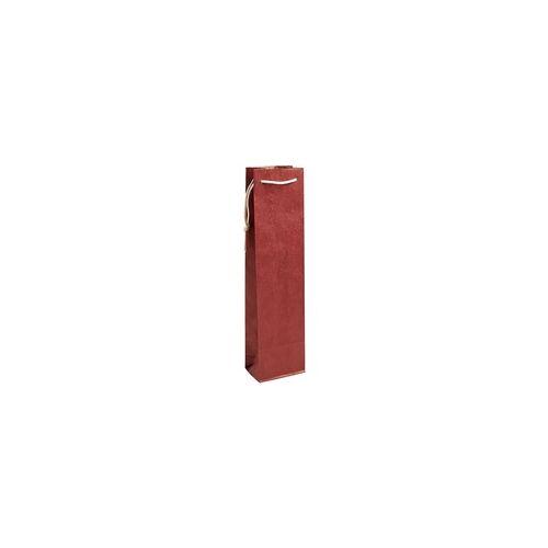 OTTO Office Flaschen-Geschenktasche - 1 Flasche (ohne Sichtfenster) rot, OTTO Office, 9.2x36x8.8 cm