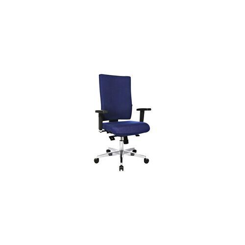 OTTO Office Bürostuhl »Premium« mit Armlehnen blau, OTTO Office Premium