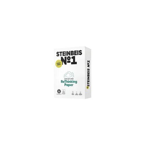 Steinbeis Recyclingpapier »Classic White« weiß, Steinbeis