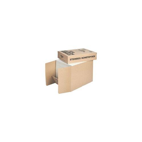 Steinbeis Öko-Box Recyclingpapier »Trend White« weiß, Steinbeis