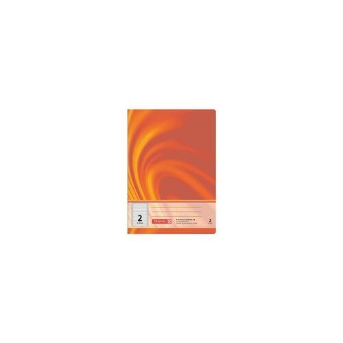 Brunnen Schulheft »Vivendi 104470202« A4 liniert (Lineatur 2), Brunnen