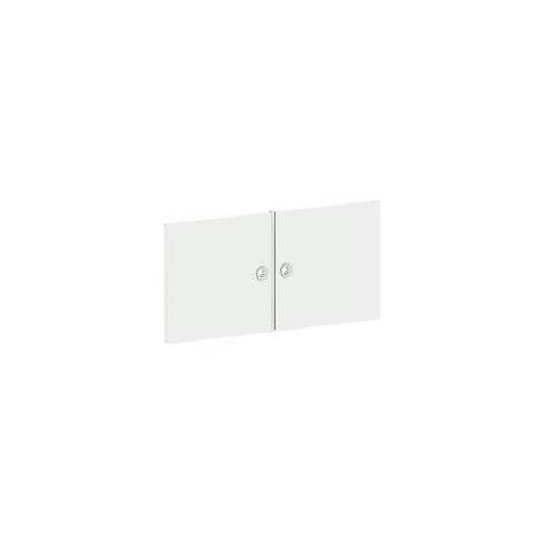 Viasit Tür für Regal »System 4« breit weiß, viasit, 75x37.5x1.5 cm