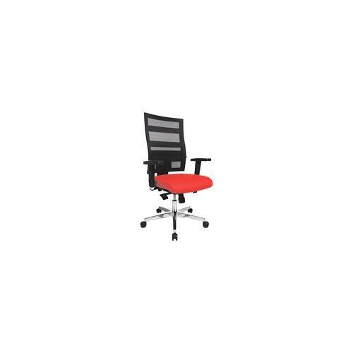 OTTO Office Bürostuhl »Premium« mit Armlehnen rot, OTTO Office Premium
