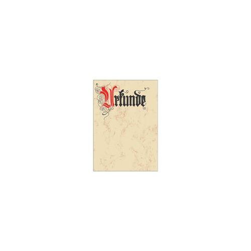 Sigel Motivpapier »Urkunde« DP548 beige, Sigel, 21x29.7 cm