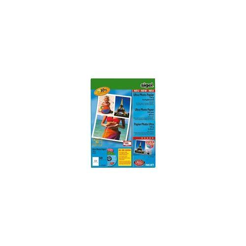 Sigel Foto Inkjet-Papier »Ultra« IP639 weiß, Sigel