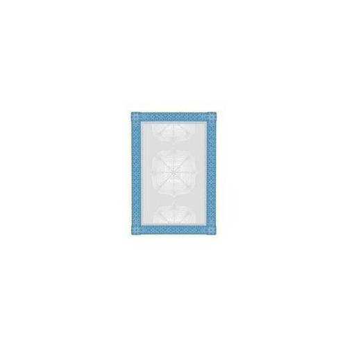 Sigel Motivpapier »Wertpapier blau« DP490 beige, Sigel, 21x29.7 cm