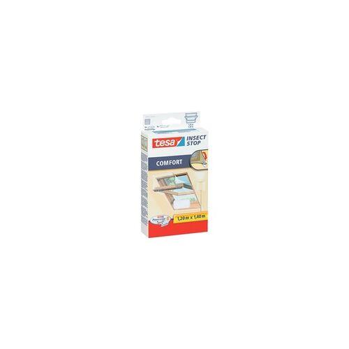 tesa Fliegengitter »Comfort« 55881 für Dachfenster weiß, tesa, 120x140 cm