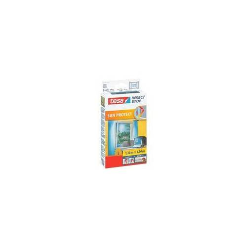 tesa Fliegengitter »Sun Protect« 55806 für Fenster grau, tesa, 130x150 cm