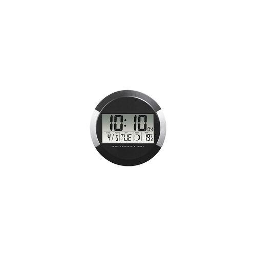 Hama Digitale Funk-Wanduhr »PP-245« 00186383 Ø 24,5 cm, Hama