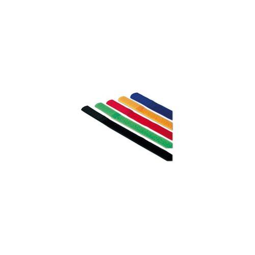 Hama Kabelbinder - 5 Stück (farbig) rot, Hama