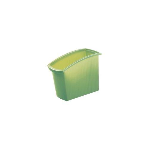 HAN Papierkorb »Mondo« 18 Liter grün, HAN, 19.5x49.2x45.8 cm