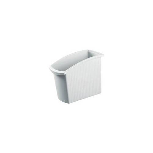 HAN Papierkorb »Mondo« 18 Liter grau, HAN, 19.5x49.2x45.8 cm