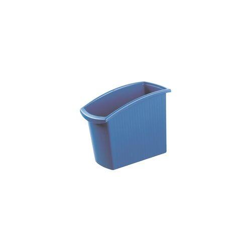 HAN Papierkorb »Mondo« 18 Liter blau, HAN, 19.5x49.2x45.8 cm