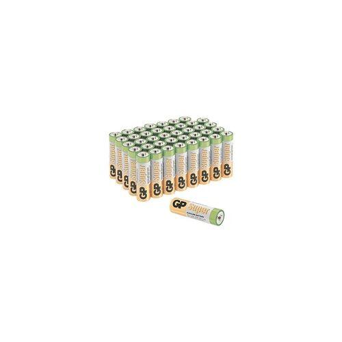 GP 40er-Pack Batterien »Super Alkaline« Mignon / AA / LR06, GP Batteries