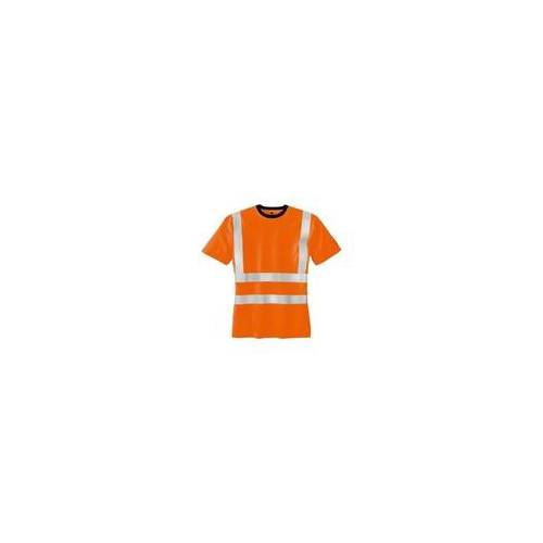 Texxor Warnschutz-T-Shirt »HOOGE« Größe L orange, teXXor
