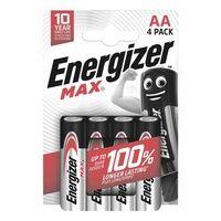 Energizer 4er-Pack Batterien »Max Alkaline« Mignon / AA / LR06, Energizer