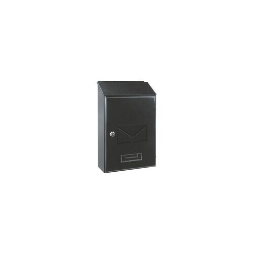 Rottner Tresor Briefkasten »Pisa« grau, Rottner, 23.5x36x9.5 cm