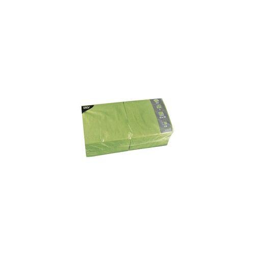 Papstar 250er-Pack Servietten grün, Papstar, 33x33 cm