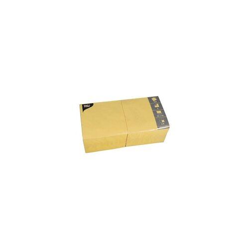 Papstar 250er-Pack Servietten gelb, Papstar, 33x33 cm