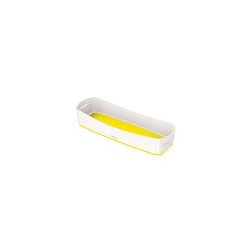 Leitz Aufbewahrungsschale »MyBox 5258« länglich gelb, Leitz, 30.7x5.5x10.5 cm