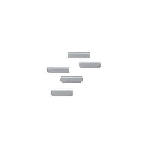Durable 10er-Pack Zettelclip »Durafix® Clip« 60 mm silber, Durable, 6x1.7x0.4 cm