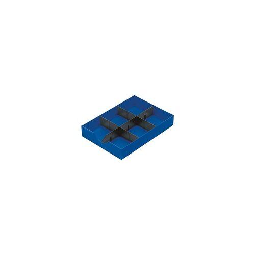 Styro System-Schublade »Styrodoc« 268-405 blau, Styro, 23x5.5x30.4 cm