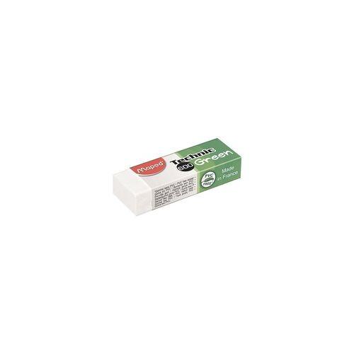 Maped Radiergummi »Technic 600 Green« weiß, Maped, 6.3x2.2x1.5 cm
