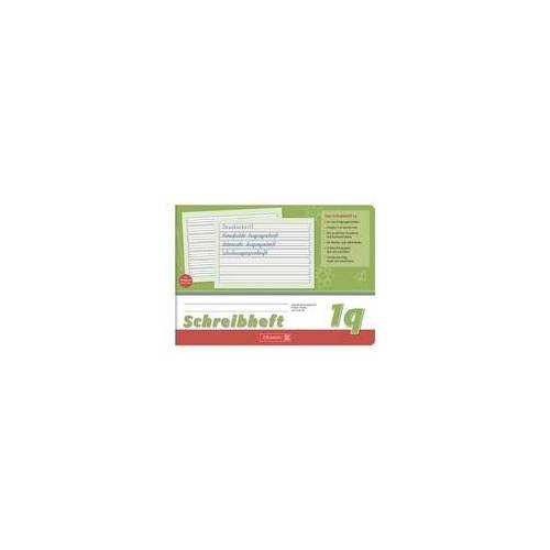 Brunnen Schreiblernheft »Vivendi 1045941« A5 quer liniert (Lineatur 1q) grün, Brunnen