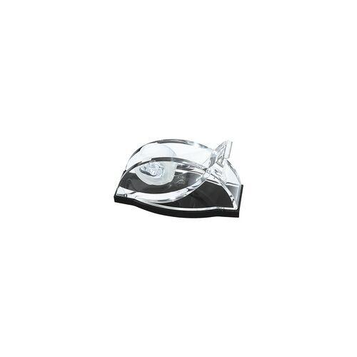 Wedo Tischabroller »acryl exklusiv« schwarz, Wedo, 15.1x8.3x6.9 cm