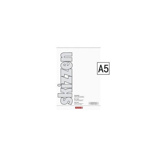 Brunnen Skizzenblock A5 190g, Brunnen, 21.2x14.8 cm