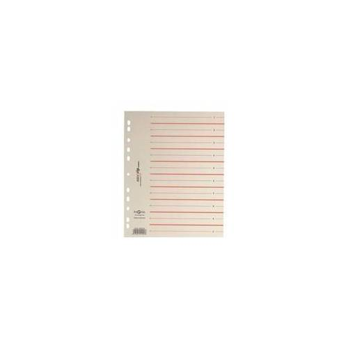 Pagna Trennblätter »easy rip« 200 g/m² - 100 Stück rot, Pagna, 24 cm