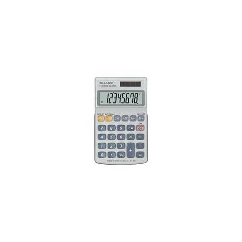 Sharp Taschenrechner »EL-250S« grau, Sharp, 7.1x1.7x11.6 cm