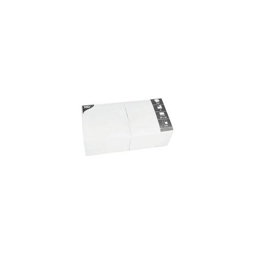 Papstar 250er-Pack Servietten weiß, Papstar, 33x33 cm