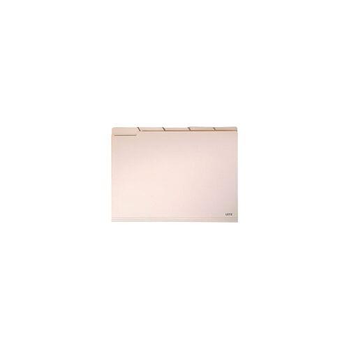 Leitz Einstellmappe »2434« beige, Leitz, 30.5x23 cm