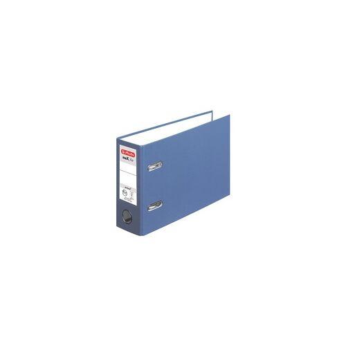 Herlitz Ordner blau, Herlitz, 8x18x29 cm