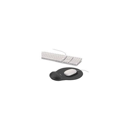 Durable Mousepad »Ergotop« grau, Durable, 23x2.6x26 cm