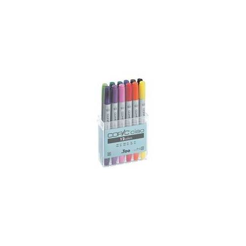 COPIC Ciao 12er-Set COPIC® Ciao Layoutmarker, COPIC Ciao